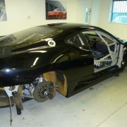 Our 2012 Race Car being prepped for the Britcar Season.