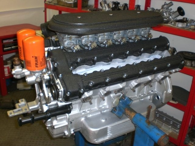 Full Daytona engine rebuild carried out at SBR
