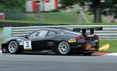Ferrar 430GT2 at Brands Hatch 2012