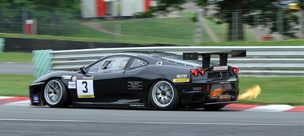 Ferrar 430GT2 at Brands Hatch 2012