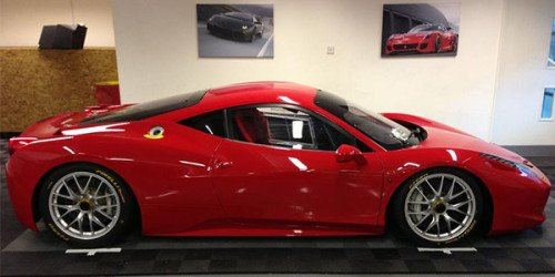 New 458 Challenge arives at SBR