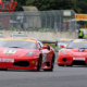 ferrari 430 challenge at casle combe
