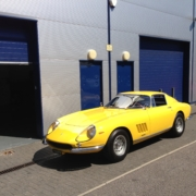 275GTB 4 in at SB for  a new exhaust system