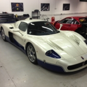 Masearti MC12 in at SBR for service.
