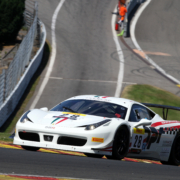 SBR 458 Challenge car at SPA