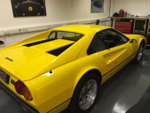 308 GTB in for restoration at SBR