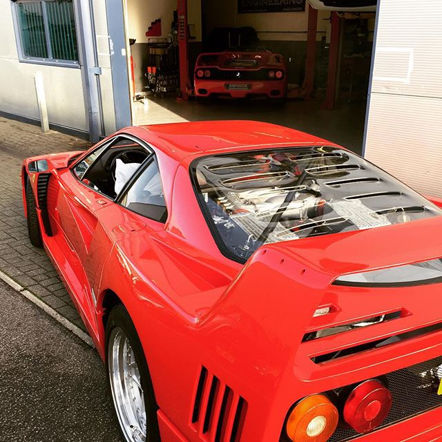 F car day #f40 #f50 #ferrari #sbraceengineering