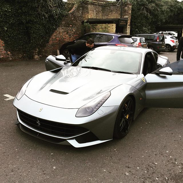 F12 delivered back to customer for the weekend #ferrari #f12 #beast
