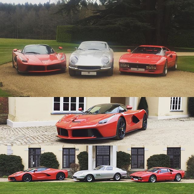 Some good work today #ferrari #laferrari #288gto #275gtb4 #sbraceengineering #jerermy_cottingham_historics