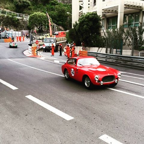 The Ferrari 225s on track at Monaco.#monacohistoricgrandprix #ferrari #monaco #red #team #225s #sbr #sbraceengineering #sbrace #redesignsport