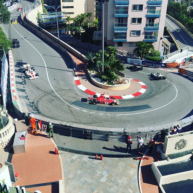 Great view from our hotel roof too! #sbraceengineering #ferrari #nikiluada #sbr #sbrace #monaco #fairmonthotel