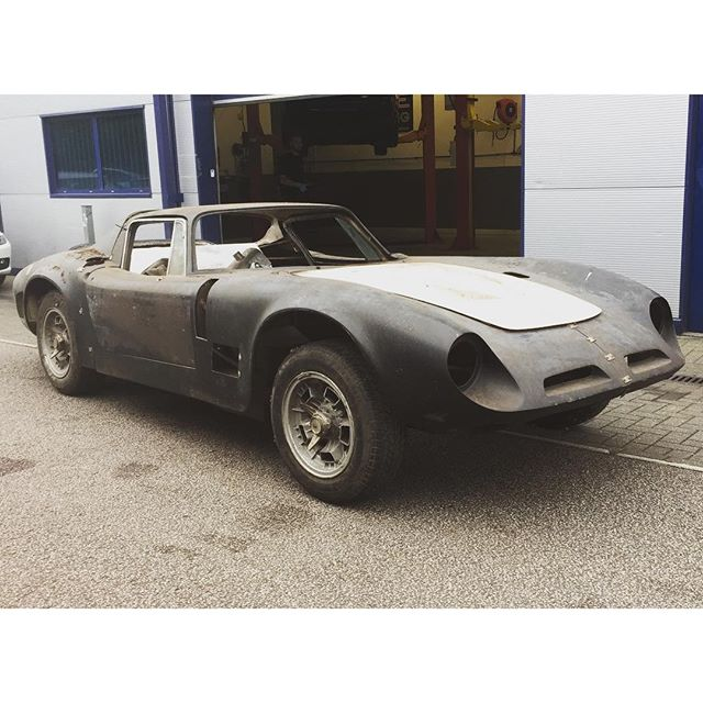 A very special project about to start at SB. #bizzarrini #bizzarrini5300gt #v8 #restoration #prototype #rare #watchthisspace