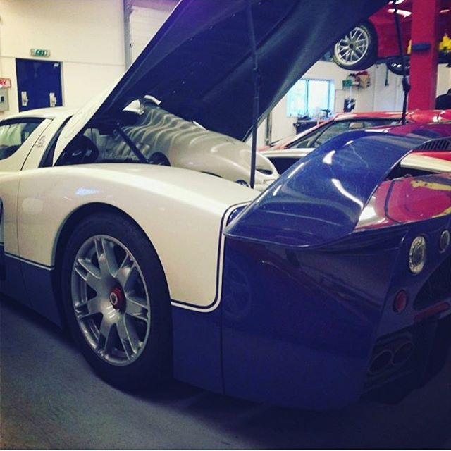 The monster that is the Maserati MC12 #maserati #mc12 #sbr #sbraceengineering #sbrace #458challenge #special #workshop