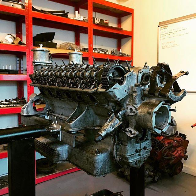 Work starts on the 250PF Coupe engine....#sbraceengineering #250 #pinifarina #coupe #ferrari #restoration #sbr #speacialist