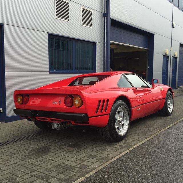 Always a favourite here at SB, worth a hell of a lot more than when I started working on them! The 288 GTO... #sbraceengineering #specialist #ferrari #288 #288gto #gto #forsale #red #1980s #turbo #twinturbo #supercar #favorite