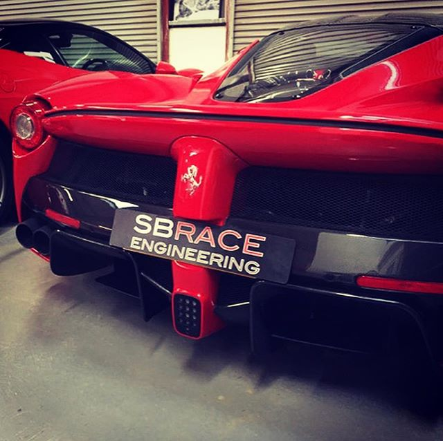 Some interesting things going on this time of year at SB. Wach this space.This is One of 5 #laferrari owed by our customers, that doesn't include the #laferrariaperta 's! ...#sbraceengineering #ferrari #service #ferrariservice #lamborghiniservice #supercars #engineering #sbr #ferrariracing #10years #specialist