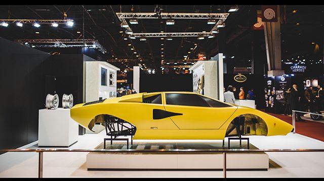 Some amazing cars here in Paris. The Countach was so ahead of it's time! #lamborghini #lamborghinicountach #yellow #ferrari #512M #ferrariracing #sbraceengineering #paris #retromobile @classicdriver