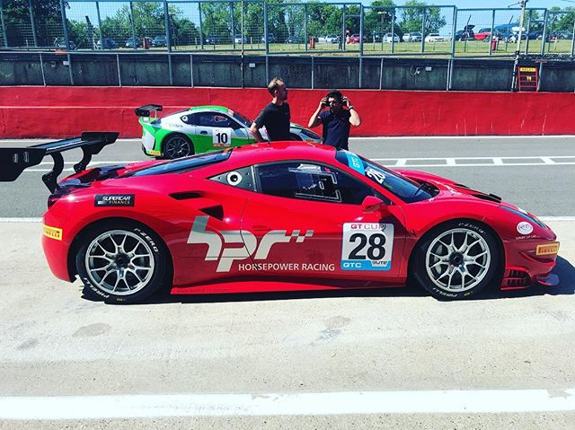 Great weekend racing with the 488. Two 3rd in class in the sprints and a 2nd in class in the two driver race. Great effort by the team in getting the car competitive in such a short time! Special thanks to @brooke_race_exhausts for quietening her down! #ferrari #ferrariracing #gtcup #sbraceengineering #sbr #488 #hpr #brookeraceexhausts #racing #28 #brandshatch